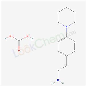 42111-91-1,Phenethylamine, 4-piperidino-, carbonate,