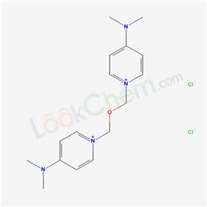 51276-94-9,Pyridinium, 1,1-(oxydimethylene)bis(4-(dimethylamino)-, dichloride,