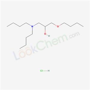 51733-97-2,1-butoxy-3-(dibutylamino)propan-2-ol hydrochloride,