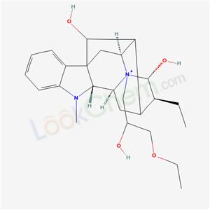 58892-90-3,Ajmalanium, 17,21-dihydroxy-4-(3-ethoxy-2-hydroxypropyl)-, (17R,21-alpha)-,