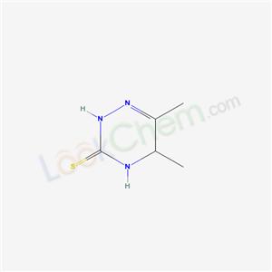 56223-67-7,5,6-Dimethyl-4,5-dihydro-as-triazine-3(2H)-thione,