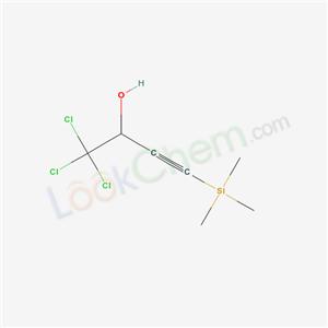 57212-19-8,1,1,1-trichloro-4-trimethylsilyl-but-3-yn-2-ol,