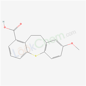 61307-79-7,Dibenzo(b,f)thiepin-1-carboxylic acid, 10,11-dihydro-8-methoxy-,