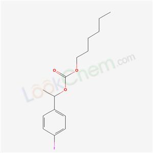 63262-11-3,Hexyl 1-(4-iodophenyl)ethyl carbonate,
