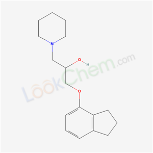 1-(2,3-dihydro-1H-inden-4-yloxy)-3-(1-piperidyl)propan-2-ol(67465-91-2)
