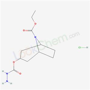 67916-84-1,ethyl 3-(hydrazinecarbonyloxy)-8-azabicyclo[3.2.1]octane-8-carboxylate hydrochloride,