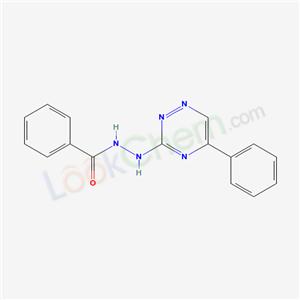 70551-89-2,Benzoic acid, 2-(5-phenyl-1,2,4-triazin-3-yl)hydrazide,