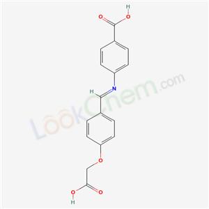 71937-12-7,4-[[4-(carboxymethoxy)phenyl]methylideneamino]benzoic acid,