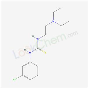 73953-70-5,3-(3-chlorophenyl)-1-(2-diethylaminoethyl)thiourea,