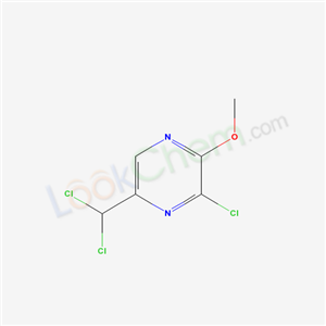 73972-63-1,3-Chloro-5-(dichloromethyl)-2-methoxy-pyrazine,