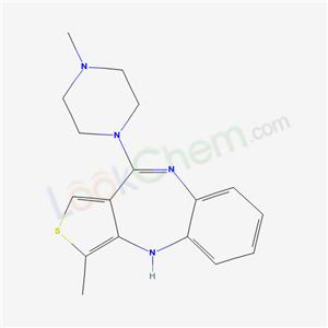 74137-76-1,3-Methyl-10-(4-methyl-1-piperazinyl)-4H-thieno(3,4-b)(1,5)benzodiazepine,