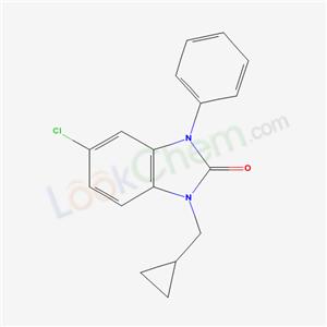 79759-46-9,5-chloro-1-(cyclopropylmethyl)-3-phenyl-benzoimidazol-2-one,