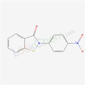81743-92-2,1,2-Benzisoselenazol-3(2H)-one, 2-(4-nitrophenyl)-,