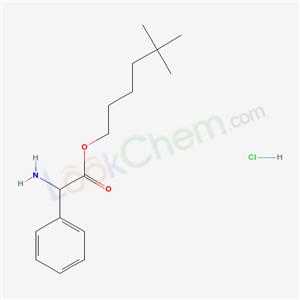 87252-87-7,DL-2-Phenylglycine 5,5-dimethylhexyl ester hydrochloride,