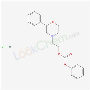 185759-03-9,Carbonic acid, phenyl 2-(2-phenyl-4-morpholinyl)ethyl ester, hydrochloride,Carbonic acid, phenyl 2-(2-phenyl-4-morpholinyl)ethyl ester, hydrochlo ride