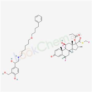 CAS No.136112-01-1,Salmeterol-fluticasone propionate mixt ...