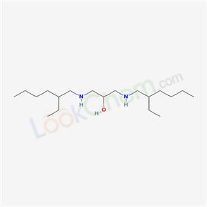 36340-29-1,1,3-bis(2-ethylhexylamino)propan-2-ol,