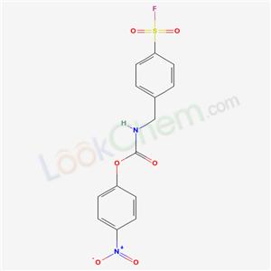 33862-84-9,(4-nitrophenyl) N-[(4-fluorosulfonylphenyl)methyl]carbamate,