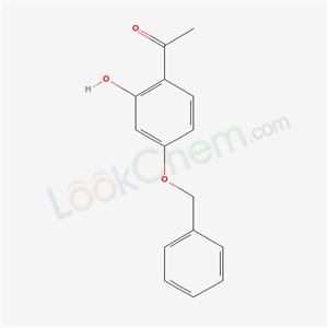 Molecular Structure of 29682-12-0 (4'-Benzyloxy-2'-hydroxyacetophenone)