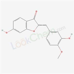32396-79-5,6-hydroxy-2-[(3-hydroxy-4-methoxy-phenyl)methylidene]benzofuran-3-one,