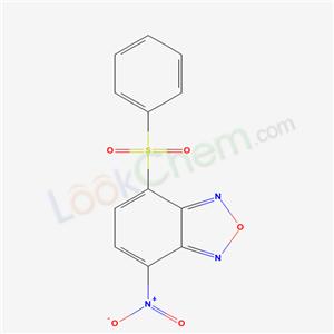 53619-71-9,2-(benzenesulfonyl)-5-nitro-8-oxa-7,9-diazabicyclo[4.3.0]nona-2,4,6,9-tetraene,