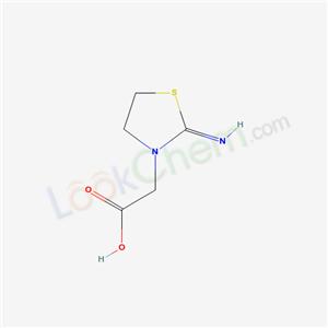 24918-26-1,2-(2-iminothiazolidin-3-yl)acetic acid,