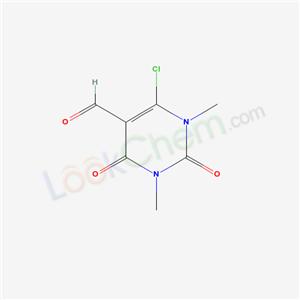 35824-85-2,4-chloro-1,3-dimethyl-2,6-dioxo-pyrimidine-5-carbaldehyde,