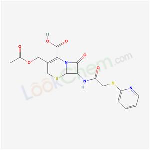 21593-22-6,3-(acetyloxymethyl)-8-oxo-7-[(2-pyridin-2-ylsulfanylacetyl)amino]-5-thia-1-azabicyclo[4.2.0]oct-2-ene-2-carboxylic acid,