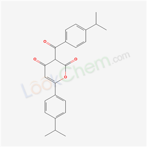 54957-63-0,3-(4-propan-2-ylbenzoyl)-6-(4-propan-2-ylphenyl)pyran-2,4-dione,