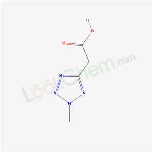 21743-77-1,2-(2-methyltetrazol-5-yl)acetic acid,