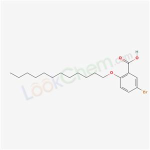 62176-21-0,5-bromo-2-dodecoxy-benzoic acid,
