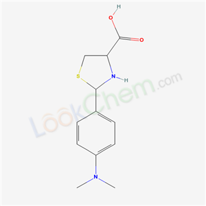 72678-86-5,2-(4-dimethylaminophenyl)thiazolidine-4-carboxylic acid,