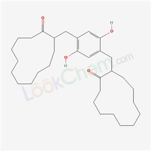 66714-91-8,2-[[2,5-dihydroxy-4-[(2-oxocyclododecyl)methyl]phenyl]methyl]cyclododecan-1-one,