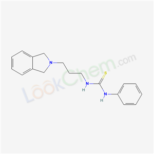 16036-35-4,1-[3-(1,3-dihydroisoindol-2-yl)propyl]-3-phenyl-thiourea,