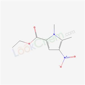 72083-70-6,ethyl 1,5-dimethyl-4-nitro-pyrrole-2-carboxylate,