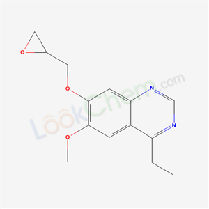 83674-93-5,4-ethyl-6-methoxy-7-(oxiran-2-ylmethoxy)quinazoline,