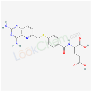 76822-63-4,L-Glutamic acid, N-[4-[[(2,4-diaminopyrido[3, 2-d]pyrimidin-6-yl)methyl]thio]benzoyl]-,