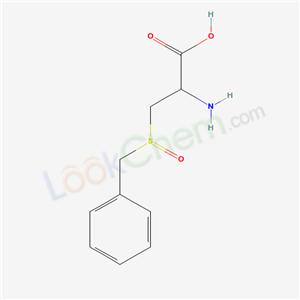 Molecular Structure of 60668-81-7 (L-Cysteine, S-(phenylmethyl)-, S-oxide)