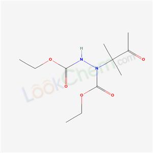83597-11-9,ethyl N-(ethoxycarbonylamino)-N-(2-methyl-3-oxo-butan-2-yl)carbamate,