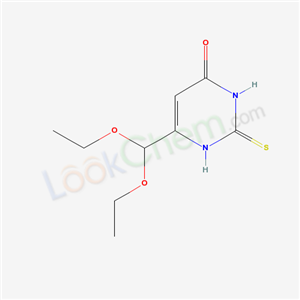 16953-49-4,6-(diethoxymethyl)-2-sulfanylidene-1H-pyrimidin-4-one,