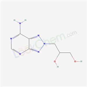 85446-44-2,3-(5-amino-2,4,7,8,9-pentazabicyclo[4.3.0]nona-2,4,6,9-tetraen-8-yl)propane-1,2-diol,