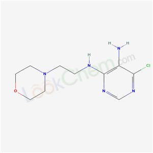 88442-82-4,6-chloro-N-(2-morpholin-4-ylethyl)pyrimidine-4,5-diamine,