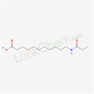 7499-95-8,11-(propanoylamino)undecanoic acid,