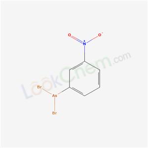7404-64-0,dibromo-(3-nitrophenyl)arsane,