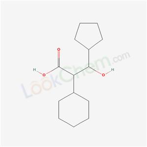 7505-58-0,2-cyclohexyl-3-cyclopentyl-3-hydroxy-propanoic acid,