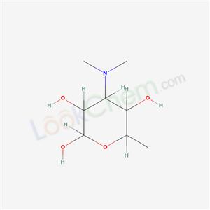 7474-30-8,4-dimethylamino-6-methyl-oxane-2,3,5-triol,