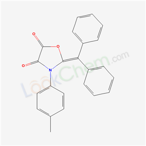 7472-72-2,2-benzhydrylidene-3-(4-methylphenyl)oxazolidine-4,5-dione,