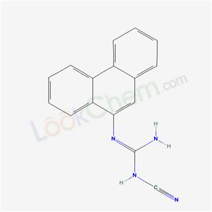 7494-64-6,1-cyano-2-phenanthren-9-yl-guanidine,