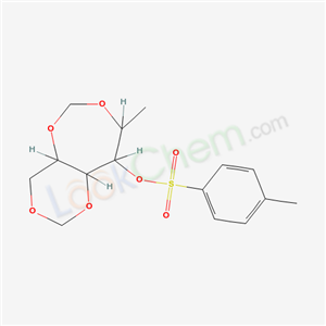 7465-83-0,3-methyl-2-(4-methylphenyl)sulfonyloxy-4,6,9,11-tetraoxabicyclo[5.4.0]undecane,