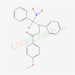 7461-91-8,4-bromo-1-(4-methoxyphenyl)-4-nitro-3,4-diphenyl-butan-1-one,